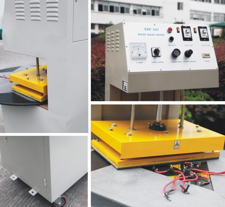 Blister Sealing Machine - machine section photo