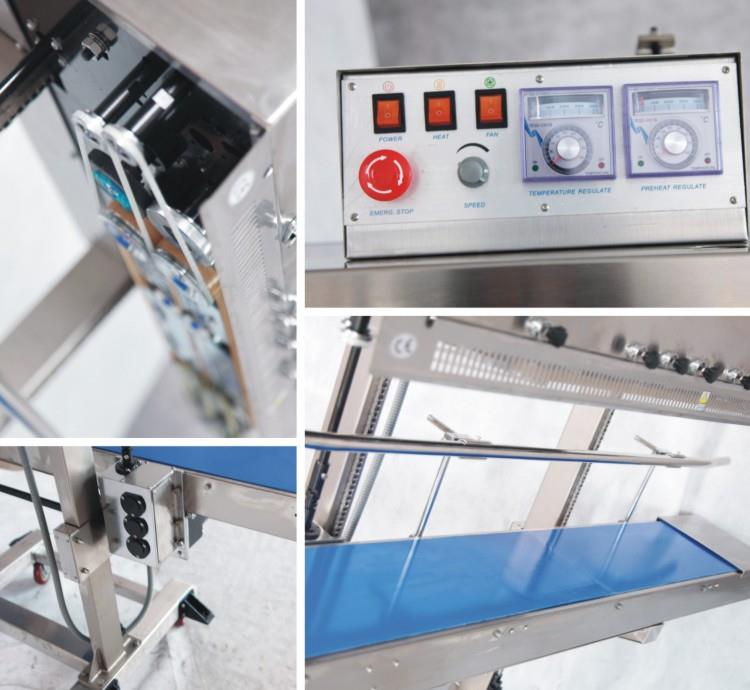 Continuous Band Sealer Heavy Duty - machine sectional photo