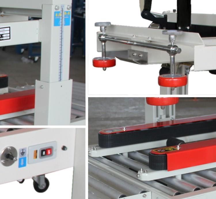 Carton Sealer - Side Belt Machine sectional photo