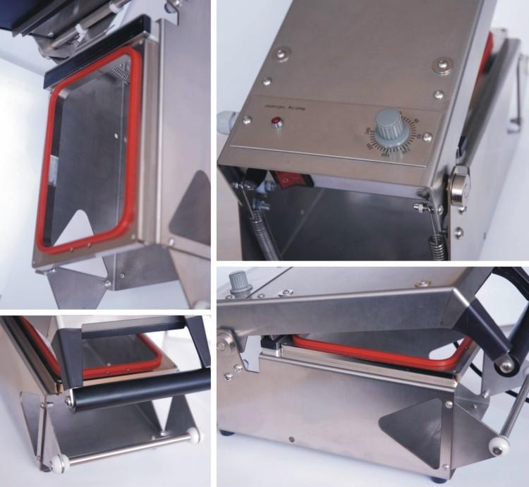 Manual Tray Sealer - machine sectional photo