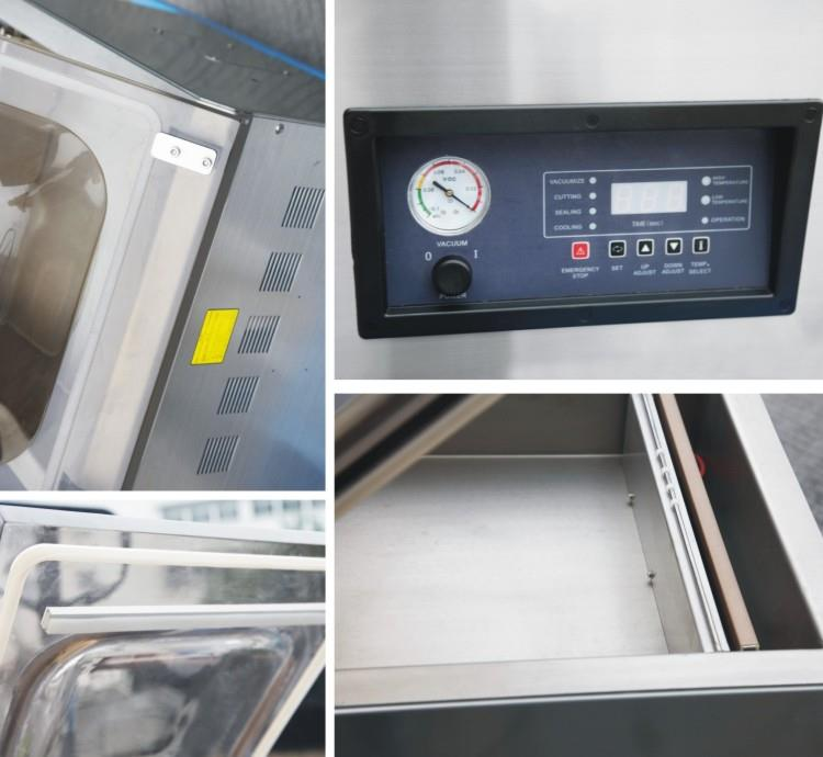Vacuum Packaging Machine-Double Side - machine sectional photo