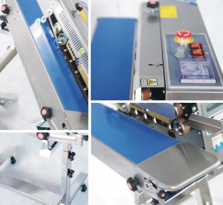 Automatic band sealer - machine sectional photo