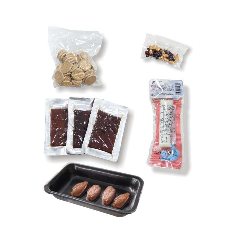 Automatic Continuous Vacuum Sealer - packed sample