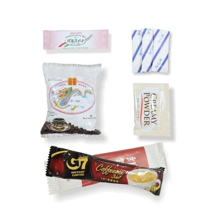 FFS Powder Packing Machine-Augur Type - packed sample