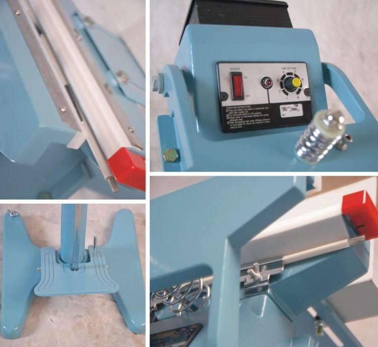 Foot Impulse Sealer - machine sectional photo