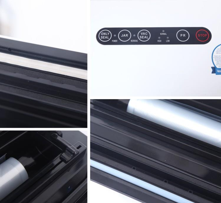 Household Vacuum Sealer- - machine sectional photo