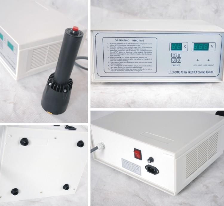 Induction sealer machine - machine sectional portfolio