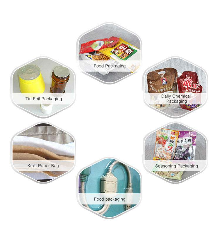 Vacuum Packaging Machine- Single Side - product applications