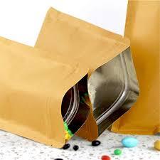 Alufoiled Kraft Paper Bags